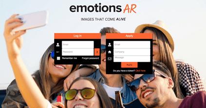 Emotions AR, imágenes que cobran vida