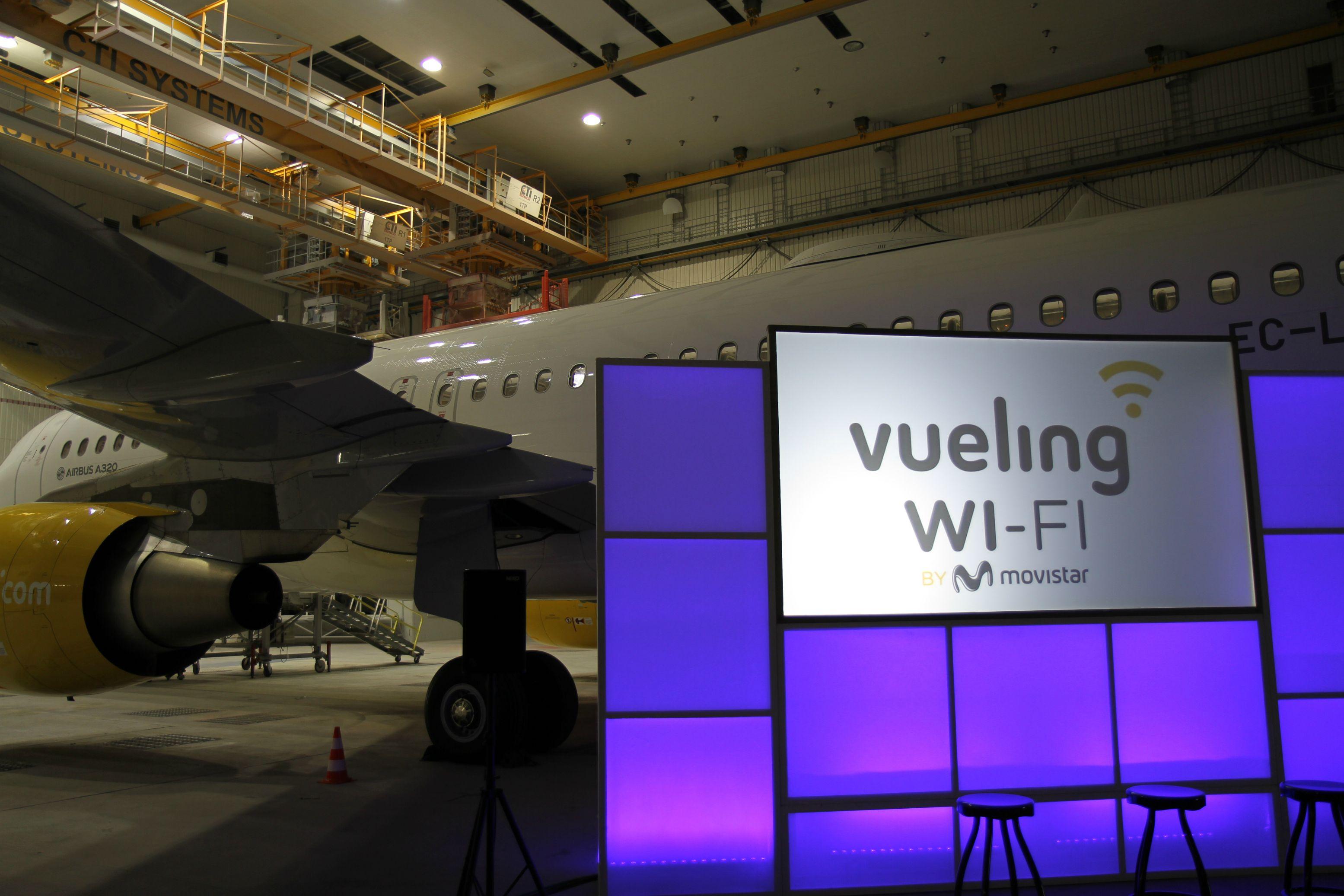 La banda ancha despega en Europa con Vueling y Movistar
