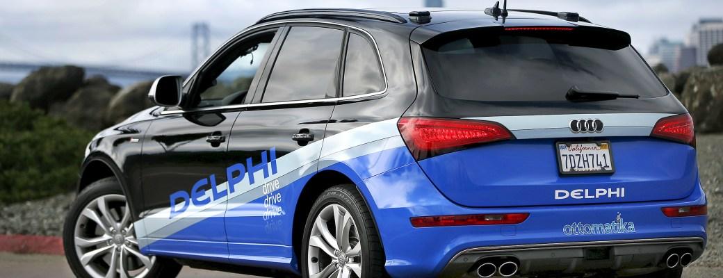 coche autónomo de Delphi