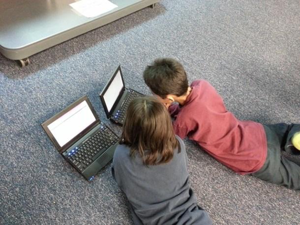 Niños y medios sociales