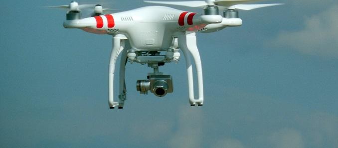 Los drones ya llevan cámaras 4K