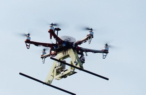 repartir el correo con drones