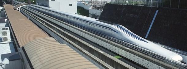 El tren maglev que viaja a más de 600 Km/h
