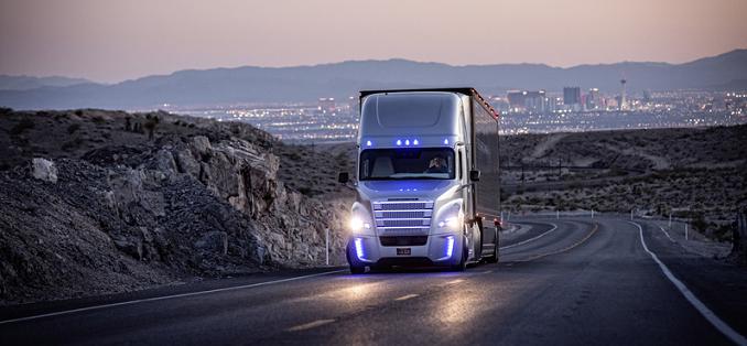 El primer camión autónomo con permiso de circulación