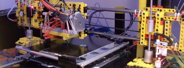 LEGO también sirve para construir impresoras 3D