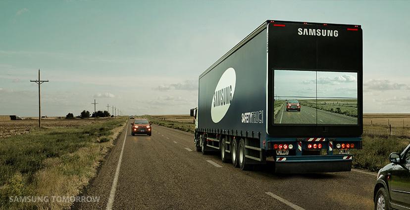 Camiones transparentes para evitar choques frontales durante los adelantamientos