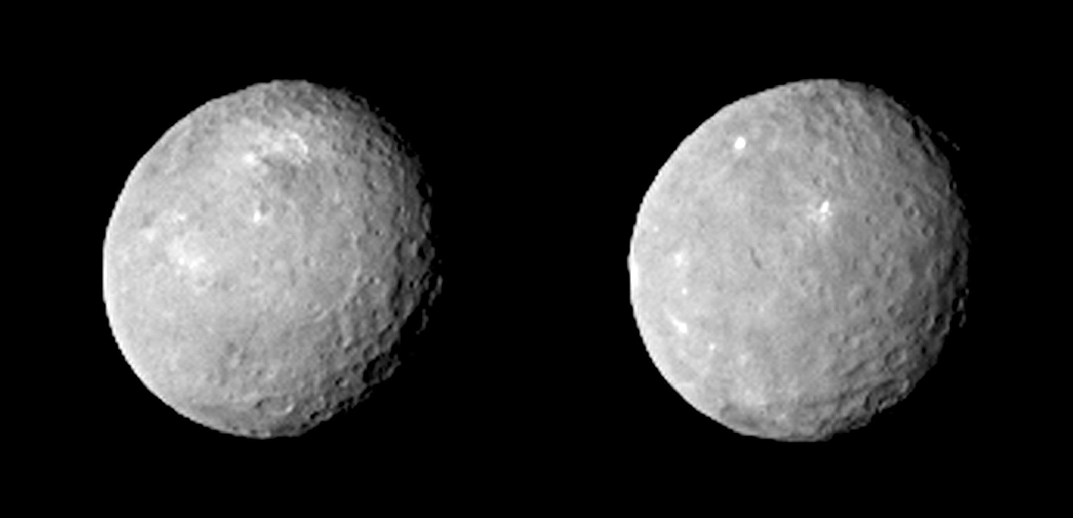 ¿Qué es el misterioso punto blanco del planeta Ceres?