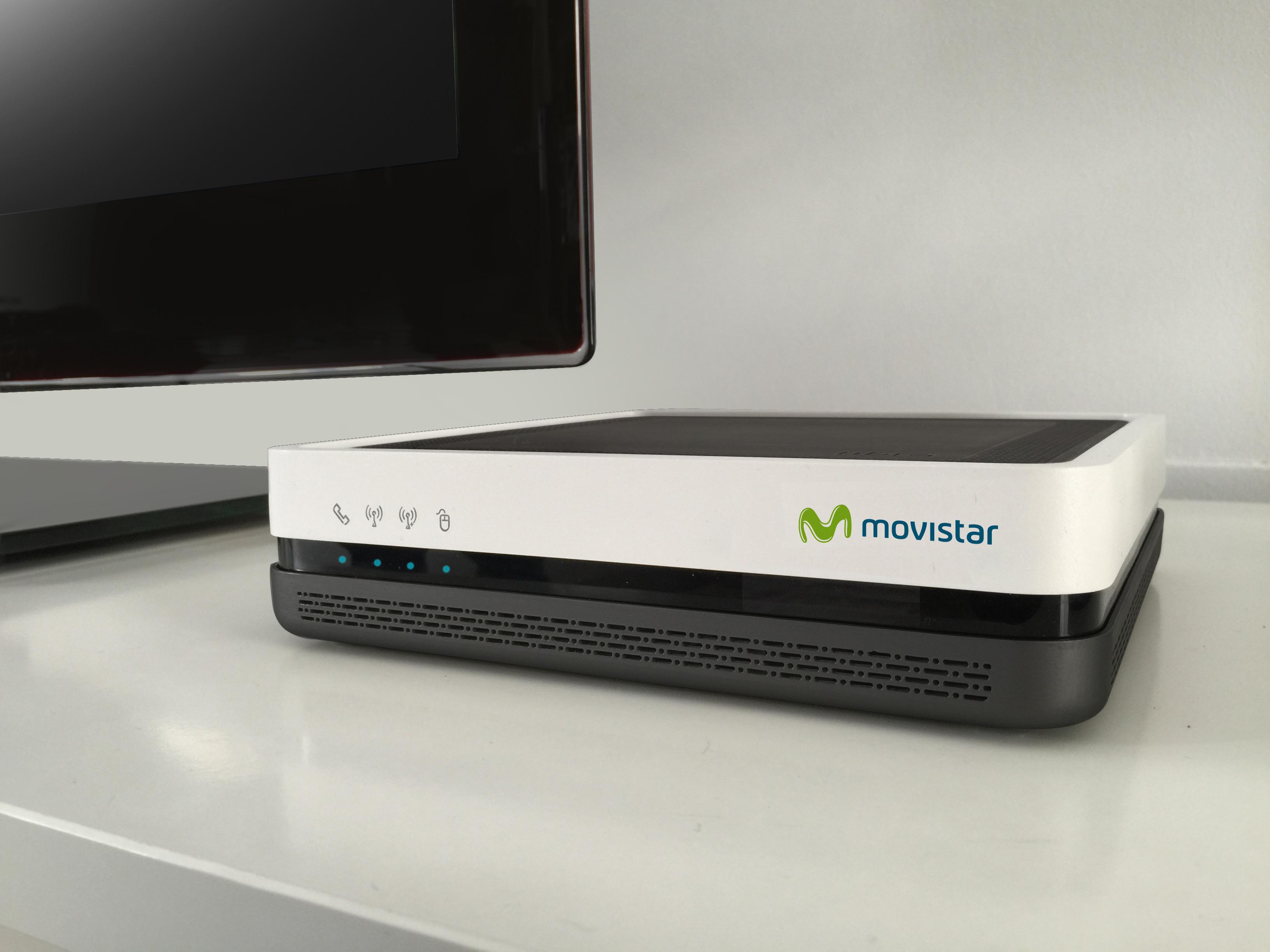 El revolucionario 3 en 1 de Movistar, Home Gateway Unit