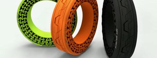 Los neumáticos que jamás se deshincharán
