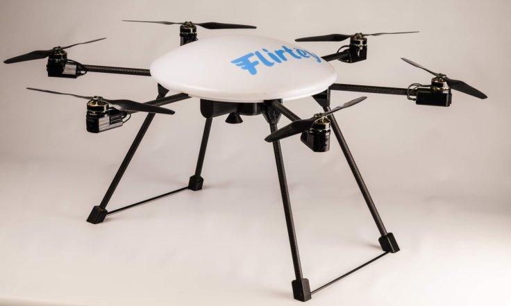 Estos drones sirven para llevar medicamentos a zonas rurales