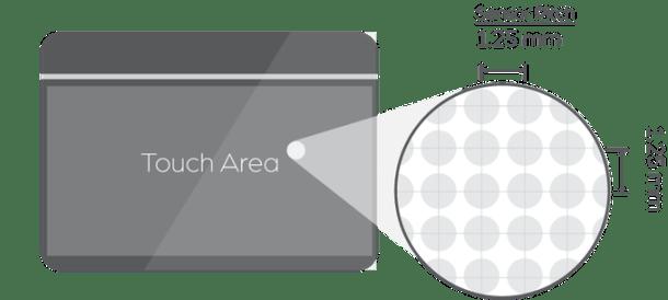 touchpad modular personalizable