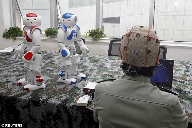 Nueva tecnología para controlar robots con la mente