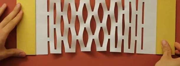 Grafeno que se dobla como papel para construir nanomáquinas