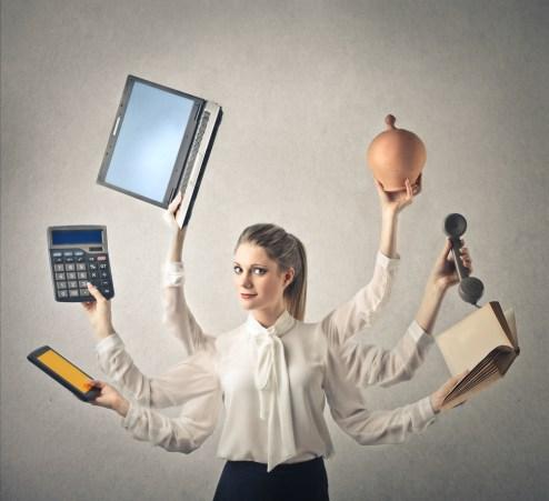No hagas multitareas. Imagen de Shutterstock / Ollyy