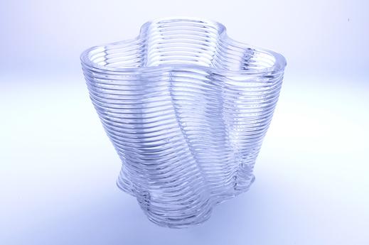 cristal con una impresora 3D