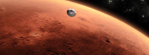 ¿Cómo sería Marte si tuviera océanos?