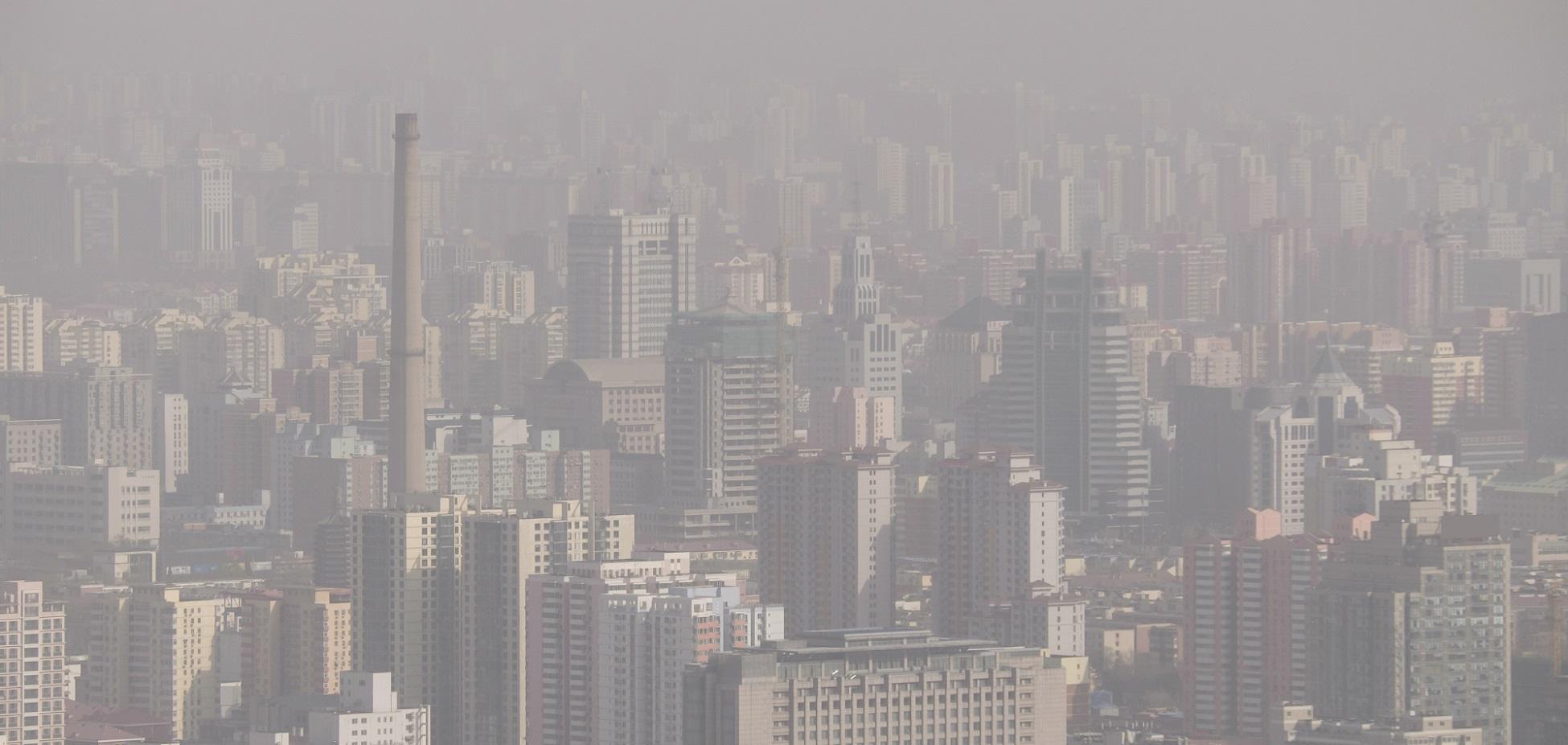 Inteligencia artificial para combatir la polución en China