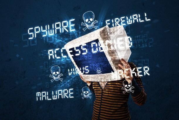 infectado con malware