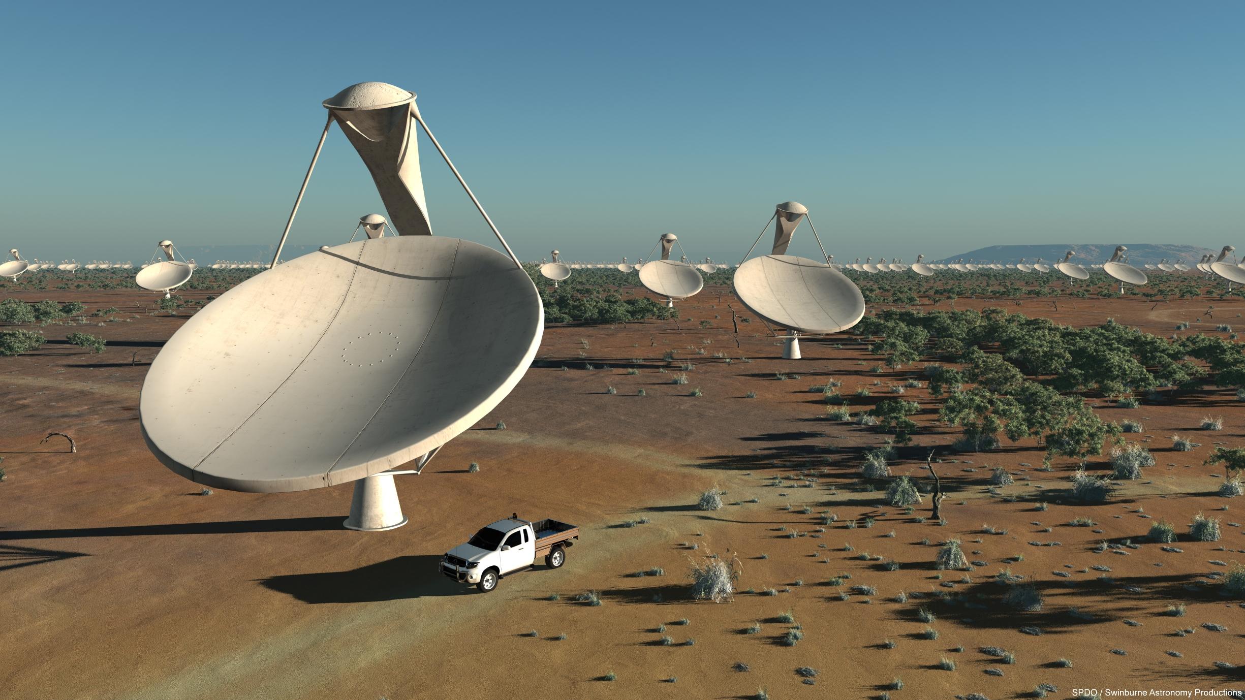 Cómo ayudará el radiotelescopio SKA a la ciencia española