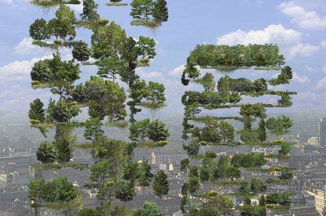 Un bosque vertical en Milán para ser los pulmones de la ciudad