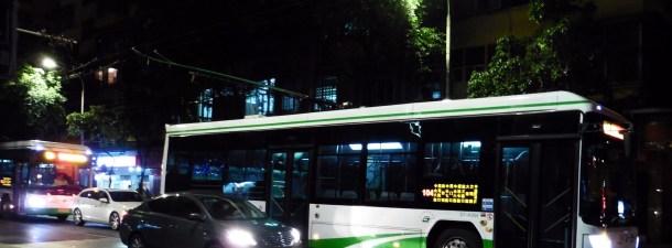 China pondrá en las calles más de 300 autobuses eléctricos