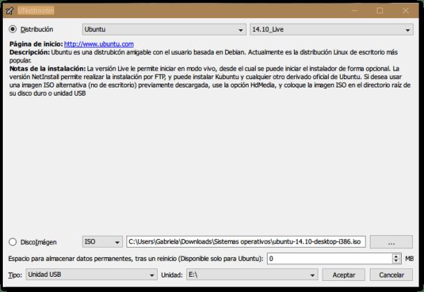 cómo instalar linux