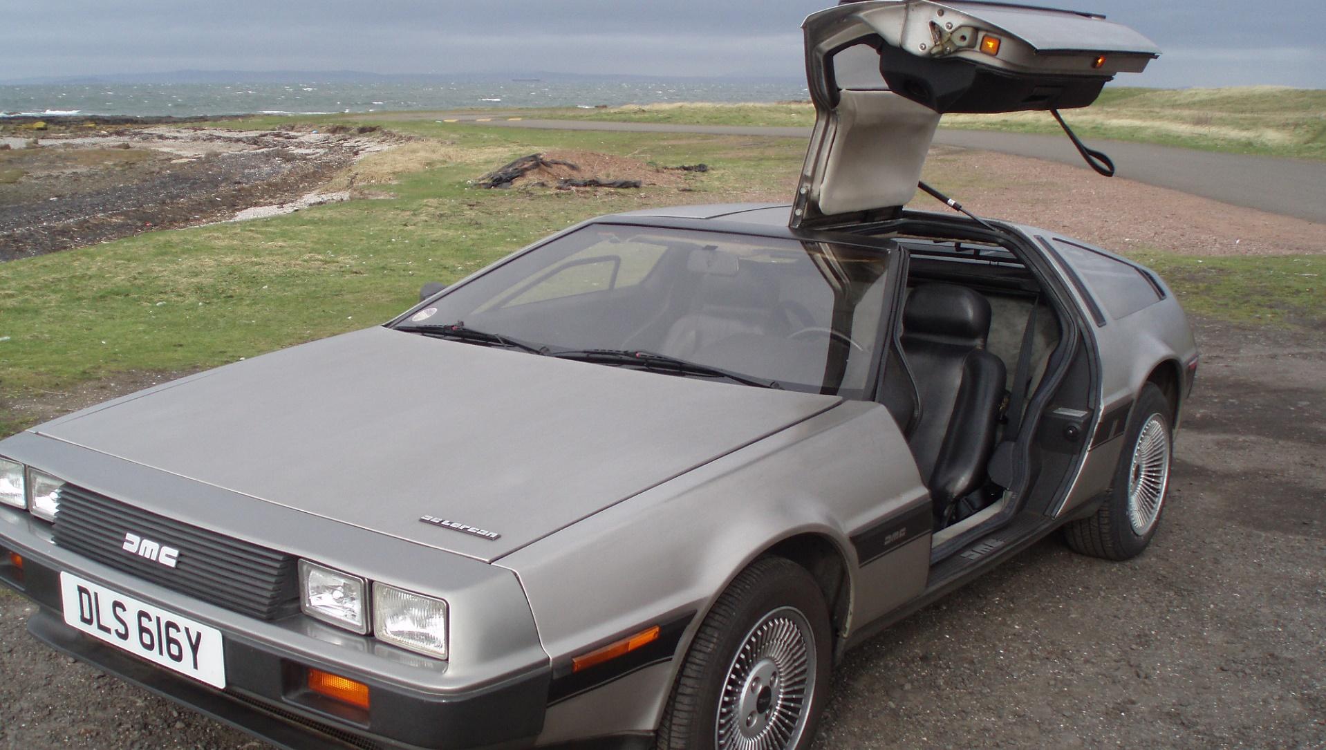 Un DeLorean autónomo para conmemorar 'Regreso al futuro'