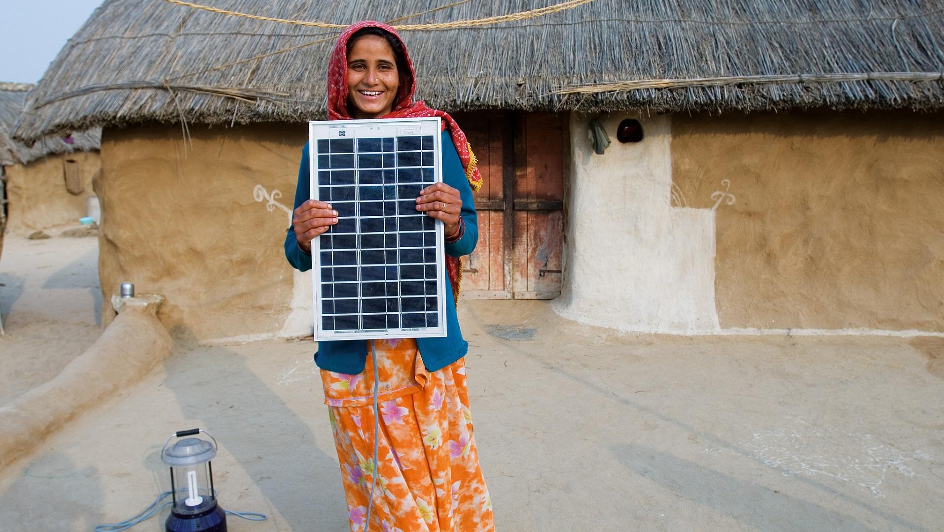 El dilema energético de India