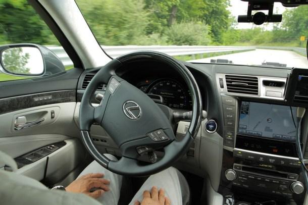 Coche autónomo de Toyota