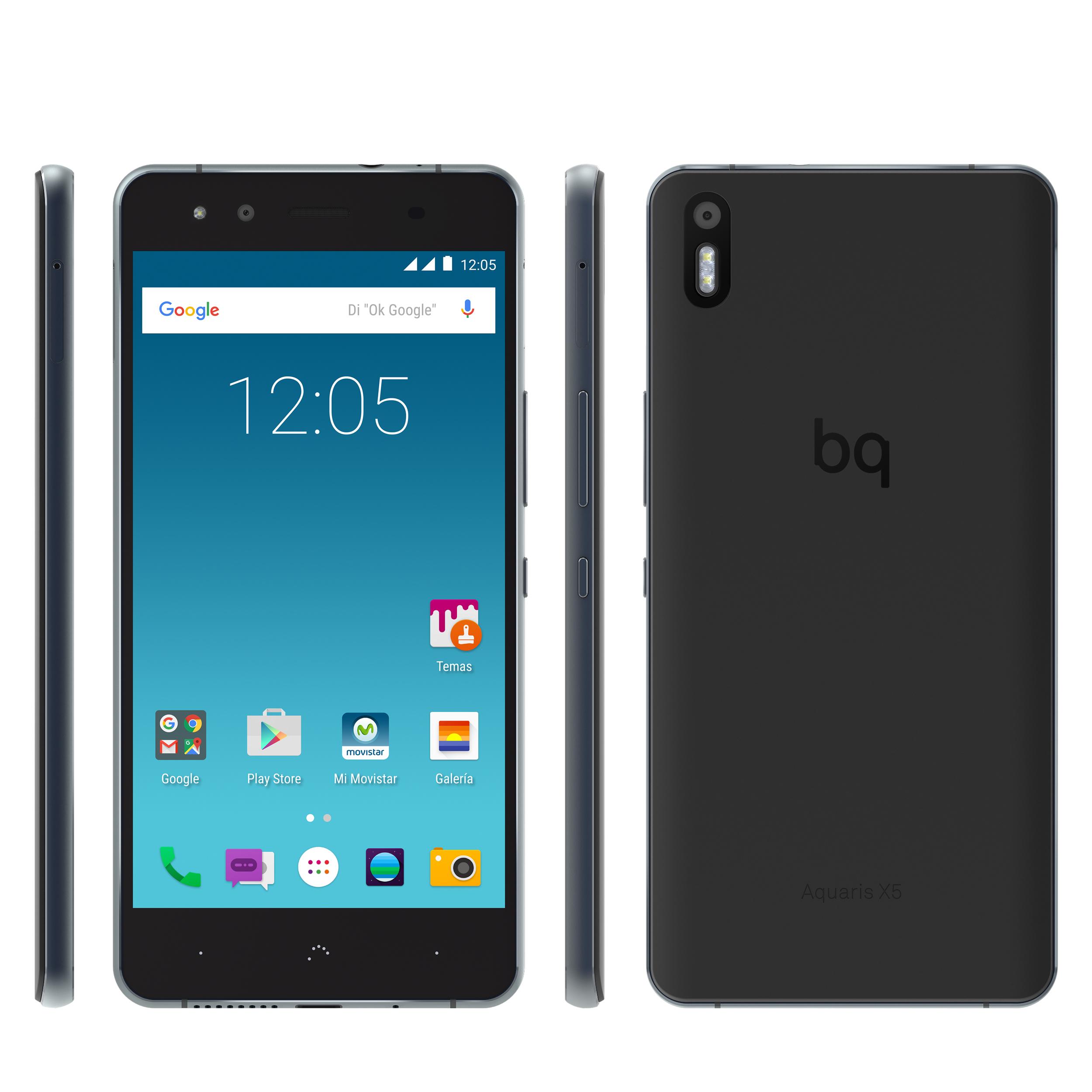 bq y Telefónica se alían para presentar un terminal con Cyanogen de serie