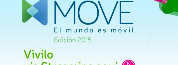 Te ofrecemos el streaming de MOVE: el Foro de Innovación y Tecnología Móvil