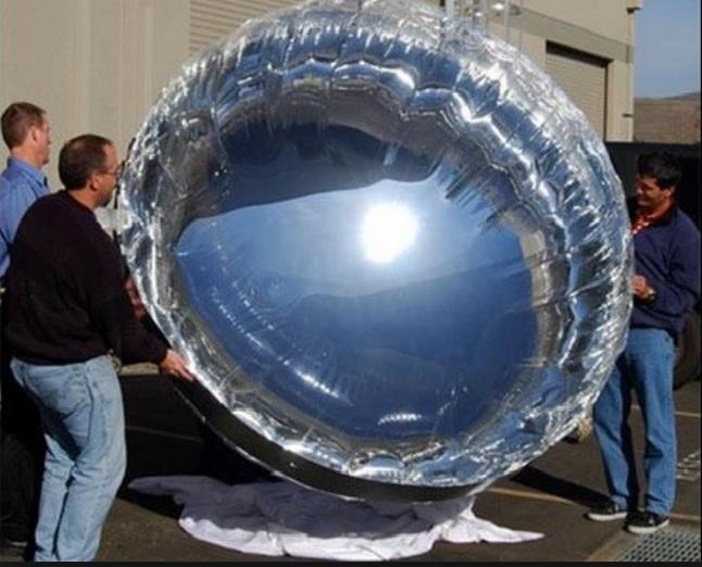 Estos son globos solares que generan 400 veces más energía que los paneles tradicionales