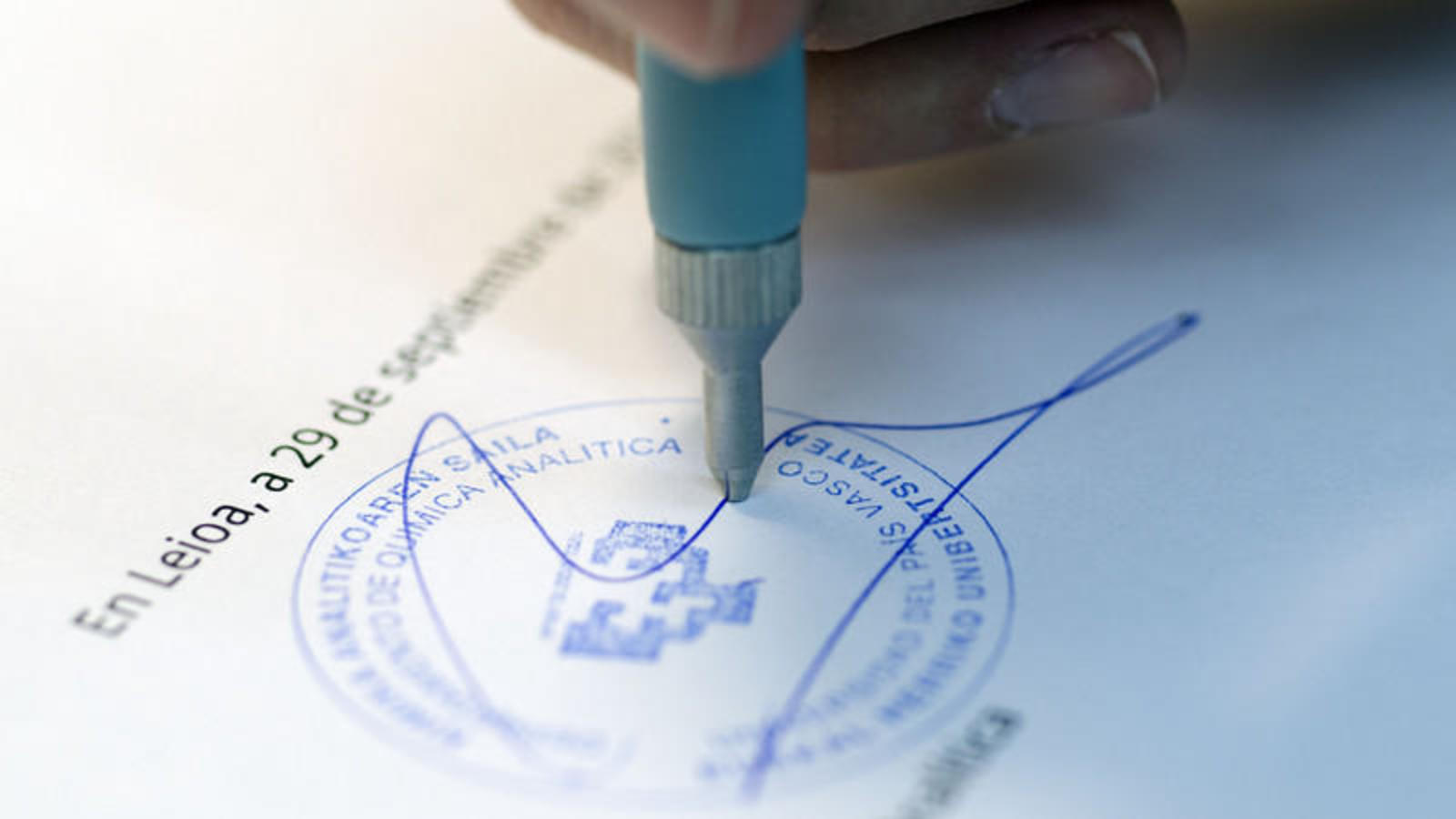 "DATINK, el ""bolígrafo vasco"" capaz de datar documentos"