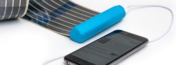 HeLi-on: un cargador solar en tu bolsillo