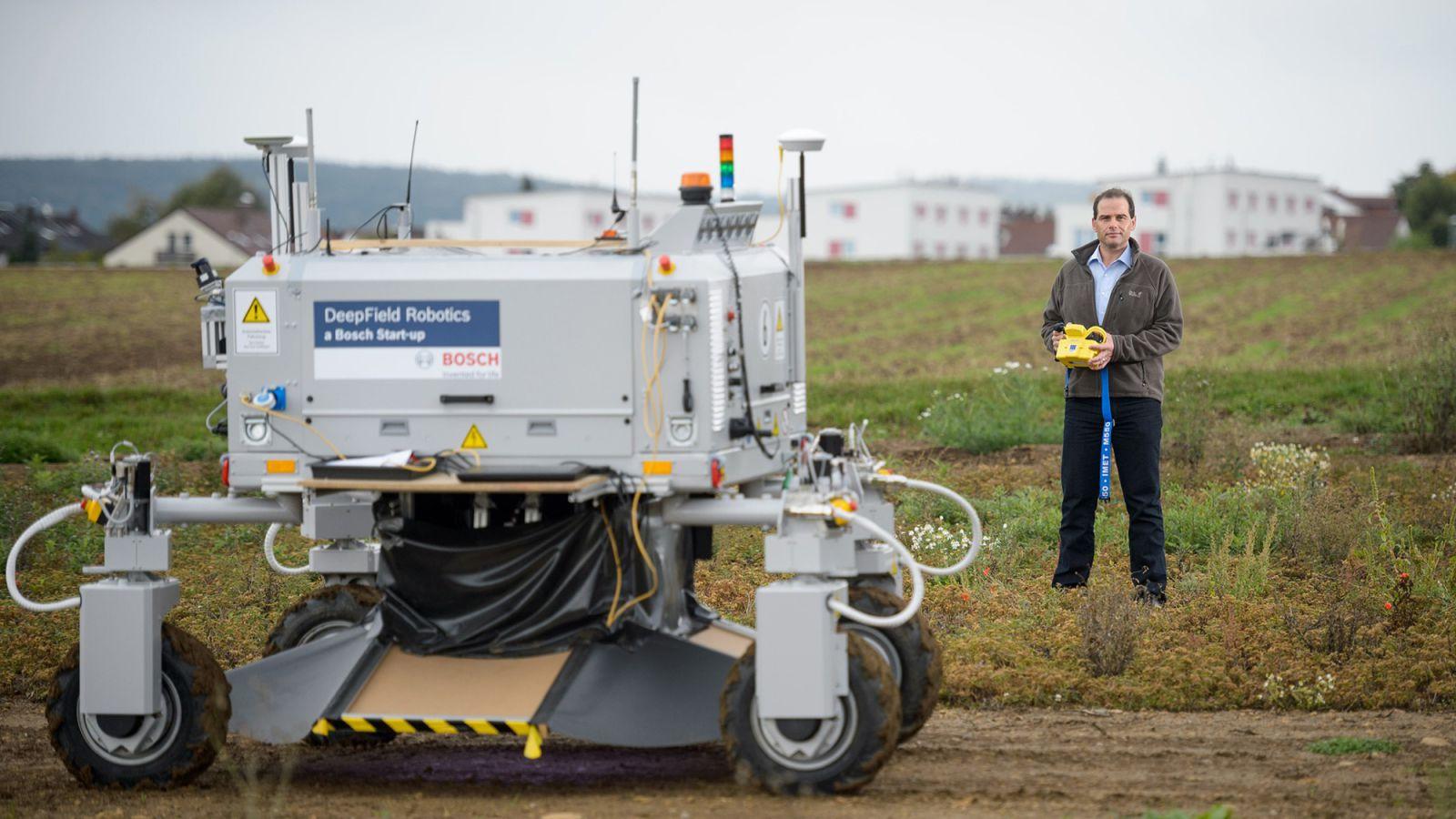Los robots que aprenden y eliminan el uso de pesticidas