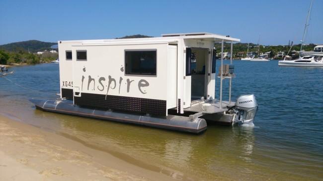 Una casa con la que puedes elegir si pasas la noche en mar o en tierra