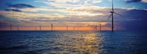 El mayor parque eólico marino del mundo está en la costa de Kent, Inglaterra