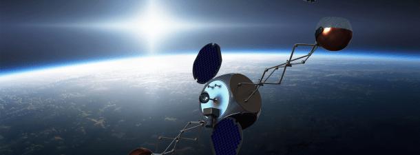 """Limpiar la basura espacial desde fuera de la Tierra con este """"motor"""" chino"""