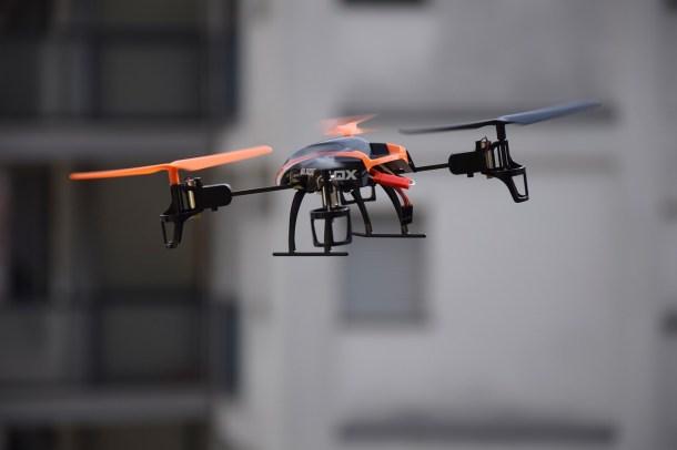 Policial de drones