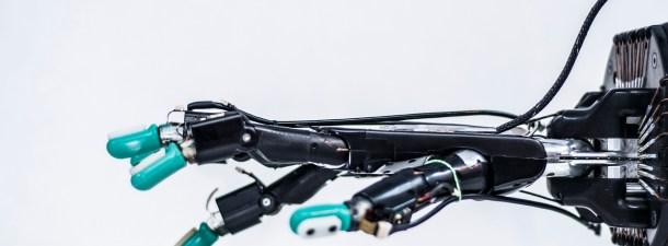 Los robots ya pueden sentir texturas