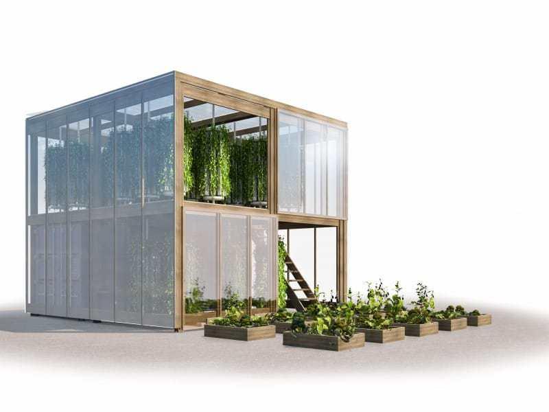 Cómo producir 6 toneladas de alimentos en 163 m²