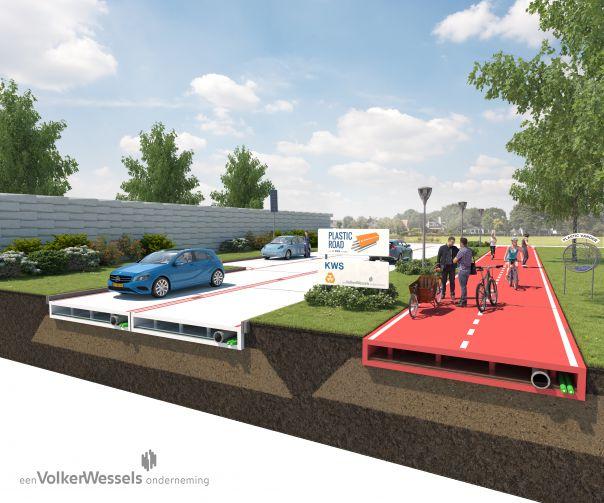 El plástico sustituirá al asfalto en las carreteras