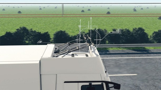 autopista eléctrica para camiones