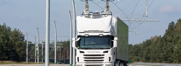 Suecia ultima los detalles para la puesta en marcha de la primera autopista eléctrica para camiones