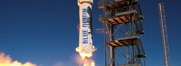 Blue Origin reta a SpaceX reutilizando su cohete