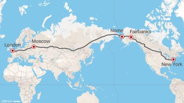 Carretera Moscú -Nueva York