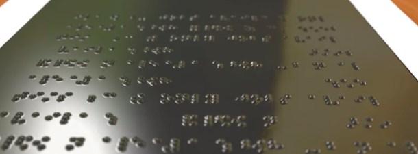 Una pantalla en braille para mostrar gráficas y tablas a personas ciegas