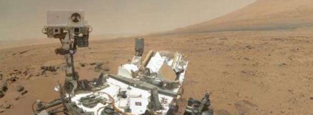 La superficie de Marte en 360º