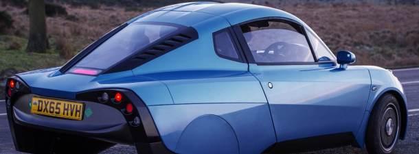 Así es Rasa, el coche con batería de hidrógeno diseñado en Barcelona