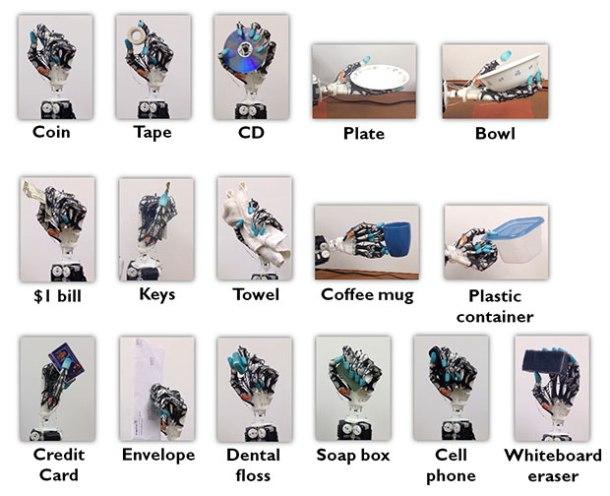 Usos mano robótica